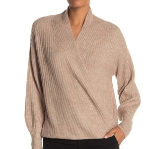 MAX STUDIO RIBBED KNIT SWEATER IN BLONDE - NWT!